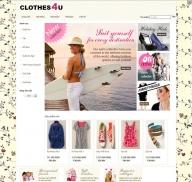 Shop thời trang nữ (mẫu 2)