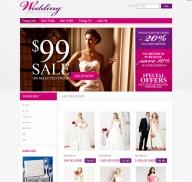 Shop đồ cưới (mẫu 1)