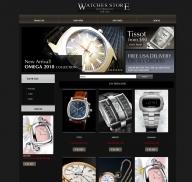 Shop đồng hồ (mẫu 1)