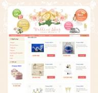 Shop quà lưu niệm (mẫu 1)