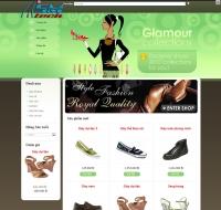 Shop thời trang - giày dép (mẫu 4)