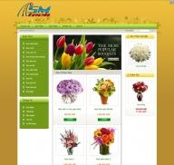 Shop bán hoa mẫu 1