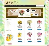 Shop bán hoa mẫu 2