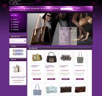 Shop thời trang - túi xách (mẫu 3)