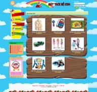 Cửa hàng đồ chơi thiếu nhi (mẫu 1)